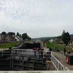 The row of Locks at Fort Augustus