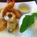 Seafood tempura... Nyum!