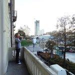 Балкон и вид на Порта Суза
