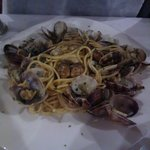 spaghetti con le vongole