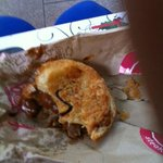 AUSTRALIA'S KNOWN MEAT PIE FROM PIE FACE REST