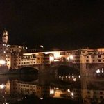 View of Pontevecchio only 100 meters away