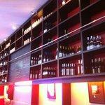 le mur de bouteilles