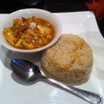 Yellow curry & egg fried rice(lunch special menu)