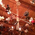 Particolare del lampadario