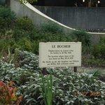 The little garden in memory of France's heroine