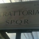 Photo de TRATTORIA S.P.Q.R.