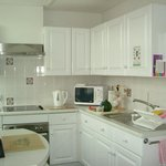 Fully fitted kitchen with microwave and all appliances