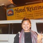 Depan Hotel Kristina... *MalamTerakhir...