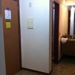 Hall de entrada do apart
