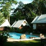 Les bungalows de style Thai