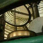 Inside shot of the lighthouse lens
