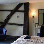 Hotelkamer detail