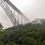 New River Gorge Bridge from Raft