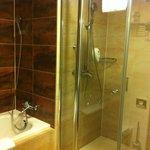 Bathroom in the suite