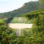 Cimitero Polacco visto dall'Abbazia