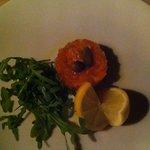 Salmon Tartar Starter