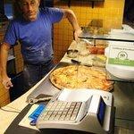 大きいピザ
