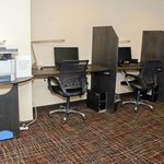 24 Hour Business Center with 3 work stations