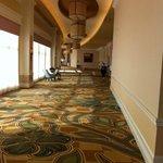 Long beautiful hallways