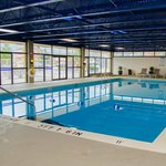 Olympic size heated indoor pool