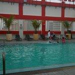 pool was nice ...no kids pool though...