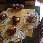 Adorable breakfast spread