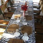 Family style dinning room
