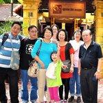 at the Quan an ngon