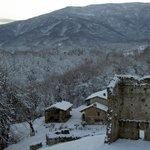 neve 2013 dal castello di bagnolo