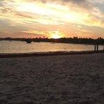 tramonto dal blue bay