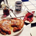 Serviceable breakfast in Bastrop at Maxine's