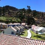 Vista del mirador a las Habitaciones y el SPA