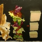 Paté of chicken liver with Melba toasts and chutney.