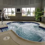 Hot Tub with ADA Pool Lift