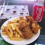 Pollo Crujiente con Patatas + CocaCola