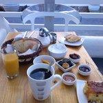 Abundante y riquisimo desayuno