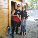 Toute la famille est bien reçue, y compris les non plongeurs.