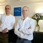 Sorgen für Ihr Wohl: Rolf Trechsel und Christian Stampfli