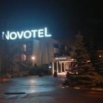 Novotel at night - sleep at last!