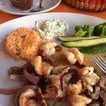 ajillo shrimp, a MUST have,