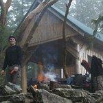 Winter cookout at Manzanita Hut - Emma Levez Larocque photo