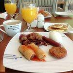 Breakfast time n i love it!!