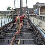 Sea Stallion of Glendalough Viking Longship full-sized replica