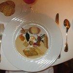 Children's main course gourmet meal