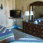 TV and room interior
