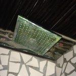 Maruba - Limescale buildup on the shower head