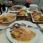 Lovely red curry! I can recommend it!