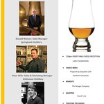 Scotch Whisky Dinner - Tuesday, January 14, 2014