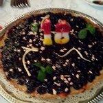 черничный пирог на 18-летие Нади